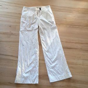 White J Crew trousers